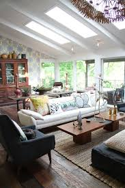 vaulted ceilings a modern twist on classic architecture wonderful living rooms with skylights ifresh design skylight in small living room