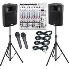 sound system rental. visual sound system rental denver y