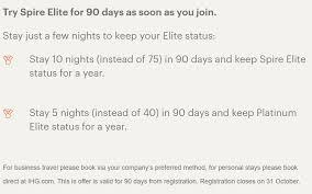 Free Instant Top Tier Elite Status From Ihg Rewards Club