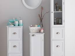 Decorative Bathroom Storage Cabinets Storage Bathroom Storage Cabinets Floor To Ceiling Tall White