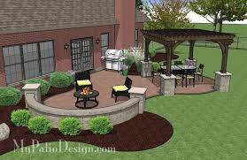 Patio Designs With Pavers Bright Green Patio Designs With Pavers S