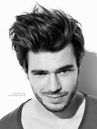 Messy Hairstyle For Guys Messy Hairstyles For Guys Hair Brushed Back Or Just Out Of Bed