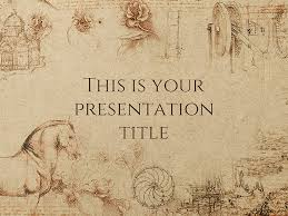 powerpoint them free presentation template historical style