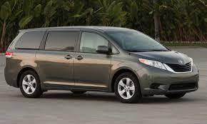 Toyota Sienna, The Best Minivan In Ins Range