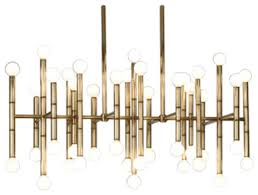 robert abbey jonathan adler meurice rectangular chandelier 687