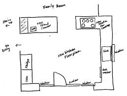 Kitchen Cabinet Floor Plan ...