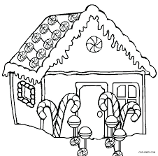 Gingerbread Boy Coloring Page House Coloring Pages House Coloring