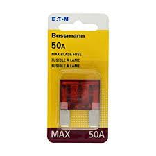 amazon com bussmann bp max 50 50 amp maxi blade fuse automotive bussmann bp max 50 50 amp maxi blade fuse