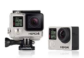 multiple camera time slice gopro hero4 black