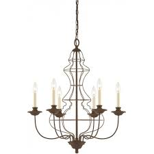 laila antique rustic bronze chandelier 6 candle style lights