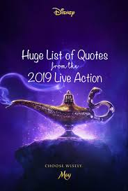 Aladdin Quotes The New Live Action Quotes List Enzas Bargains