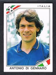 Antonio Di Gennaro - Italie - Mexico 86 World Cup sticker 47