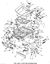 4th gen lt1 f body tech aids drawings exploded views rh shbox camaro dynacorn sheet