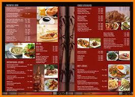 Free Food Menu Template Mesmerizing Restaurant Menu Creator Free Bire48andwap