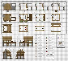 Minecraft Building Designs Step By Step Poppy Cottage Medium Minecraft House Blueprints By