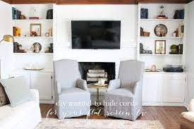 learn how to hide tv wires in a wall