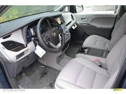 Ash Interior 2015 Toyota Sienna XLE AWD Photo #100728077 ...