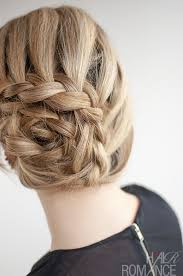 Braided Updo Hairstyles 61 Wonderful Curved Lace Braid Hairstyle Tutorial Inspired By Nicole Kidman At