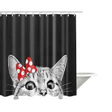 <b>New Colorful</b> Shower Curtain <b>Eco</b>-<b>friendly Flamingo</b> Plant Flower ...