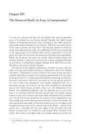 the haram al sharif an essay in interpretation archnet