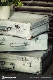 Old Suitcases Old Suitcases Vintage Background Stock Photo Ac 5ph 140207376