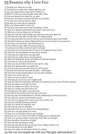 Reasons Why I Love You Quotes Simple 48 Reasons Why I Love You Google Search Crafting Intensity