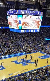 Rupp Arena Section 215 Home Of Kentucky Wildcats