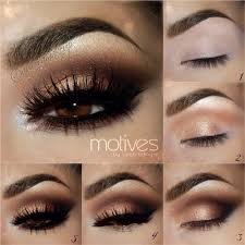 brown eyes makeup smokey dark auroramakeup motives