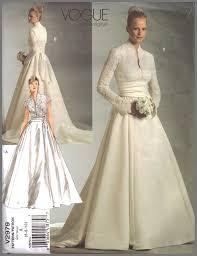 Vogue Bridal Patterns Simple Design Ideas