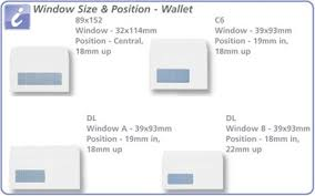 wallet size photo dimension envelopes wallet press seal window 110gsm 89x152mm white pack 500