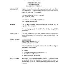 Secretary Job Description Resumes Listing Education On Resume