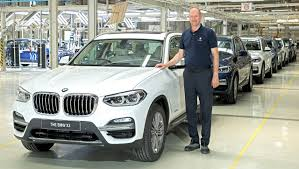 BMW Convertible bmw x3 manufacturing plant : 2018 BMW X3 assembly commences in India