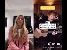 Afterglow - Ashleigh Burns TikTok duet with Ed Sheeran - YouTube