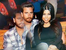 Kourtney Kardashian and Scott Disick ...