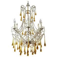 teardrop crystal chandelier tear drop glass and crystal chandelier style at glass teardrop chandelier elements crystal