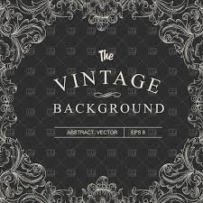 Black vintage frame design Vector Vintage Frame Design Vector Image Vector Illustration Of Backgrounds Textures Abstract Pashabo Click To Zoom Rf Clipart Vintage Frame Design Vector Illustration Of Backgrounds Textures