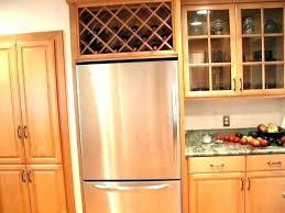 built in refrigerator cabinet. Kitchen Refrigerator Cabinet Built In Fridge Cabinetry On Top Furniture Home Design Cabinets Panels W