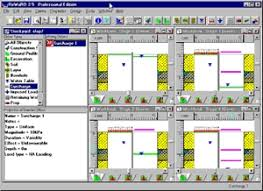 Small Picture ReWaRD Geotechnical Design Software Earth Retaining Structures