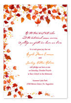 Fall Party Invitations Fall Party Invitations With Glamorous