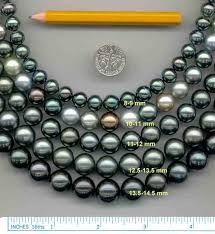 Pearl Size Information