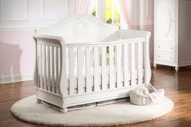 Unusual baby furniture Extreme Round Area Rug With Unique Cribs And Wall Molding Nursery Awesome Baby Nursery Room Using Unique Cribs
