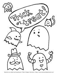 Halloween Free Printable Coloring Pages Tipbackco