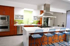 Amazing Image Gallery Of Stylish And Peaceful Mid Century Modern Kitchen Design 16  Charming On Home Ideas Photo