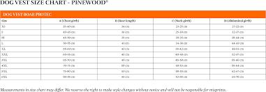 C60 Size Chart Size Chart Pinewood