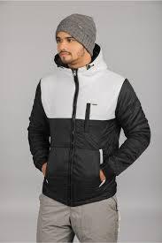 black lightweight plus size puffer jacket men