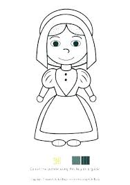Charming Pilgrims Coloring Pages Coloring Book Sheets Bspokeme