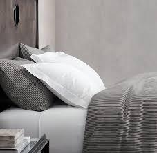 best home glamorous ticking stripe bedding of duvet navy ballard designs from ticking stripe bedding