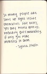Sylvia Plath Love Quotes Best Sylvia Plath Quote About People Online Poetry Archives
