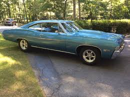 Blue 1968 Chevy Impala SS for sale in Byron, Georgia, United States