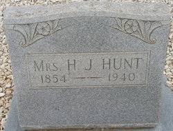 Henrietta Jane Byars Hunt (1853-1940) - Find A Grave Memorial